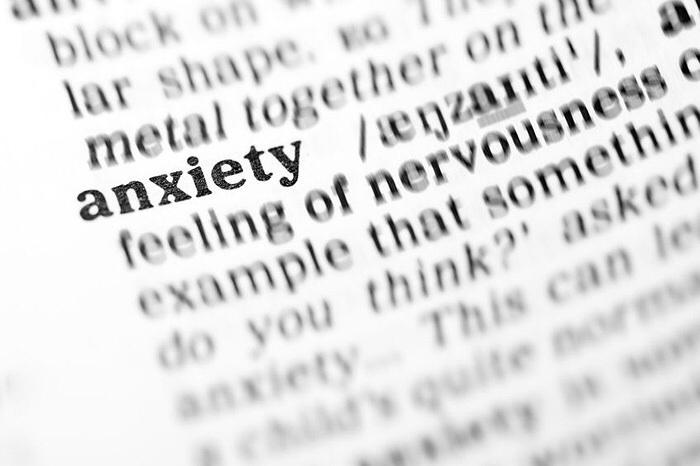 Anxiety  . . .