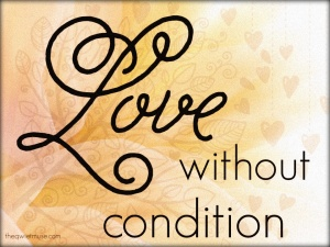 What is unconditional love?