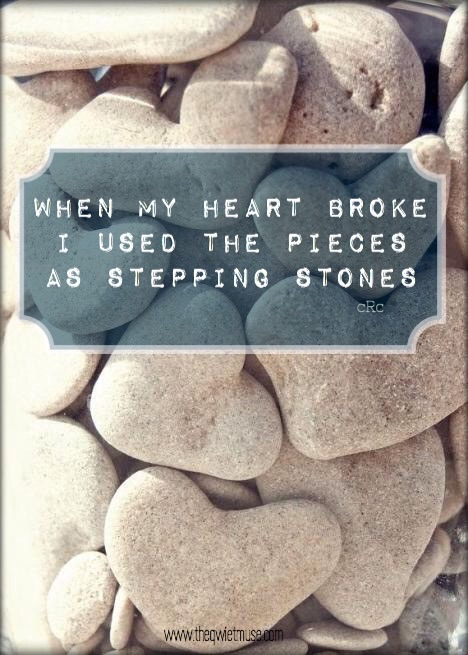 When my heart was broken