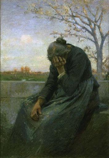Giuseppe Mentessi, Despairing Woman 1901