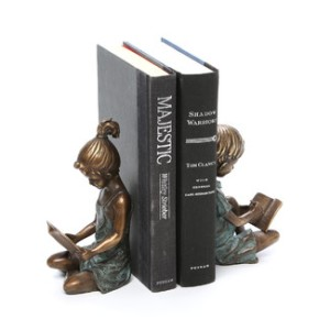 Beautiful  Reading children Bookends $242.00