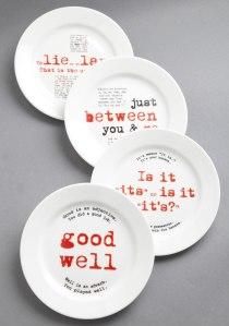 Grammarian Plate Set $49.99